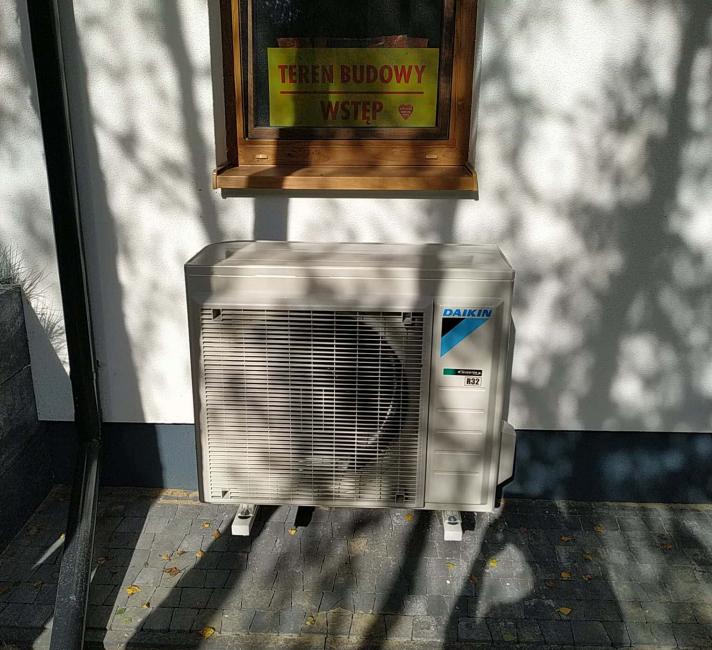 Pompa ciepła dodomu Daikin - Orzechów
