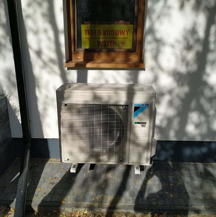 Pompa ciepła do domu Daikin - Orzechów