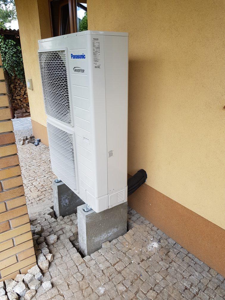 Pompy ciepła Panasonic HP 16kW – montaż Piotrków Tryb.